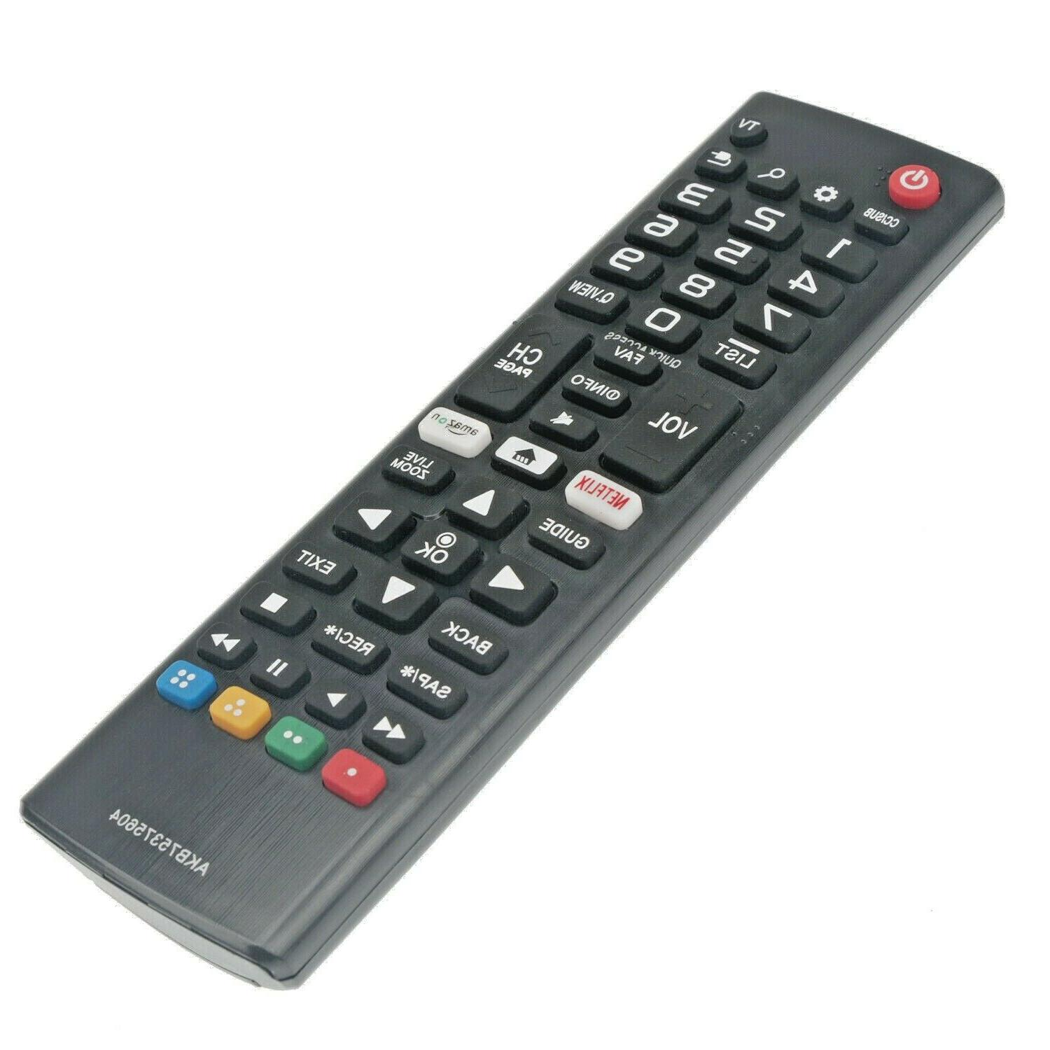 smart led lcd tv remote control akb75375604