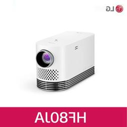 LG Laser Smart Home Theater Projector - White HF80JA