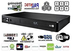 LG BP-350 Region Free Blu-ray Player, Multi region Smart Wif