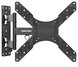 Husky Mounts Full Motion TV Wall Mount Fits Most 32-55 Inch
