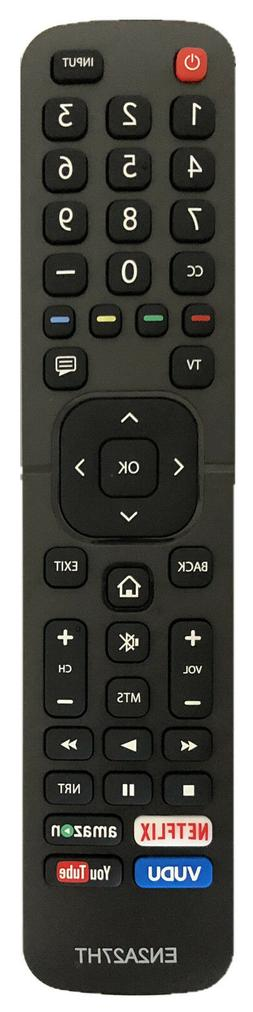 USBRMT New Hisense Remote EN2A27HT for Hisense Smart LED TV