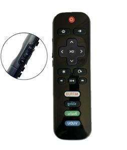 New USBRMT Replaced Remote RC280-04 for TCL ROKU TV Hulu Vud
