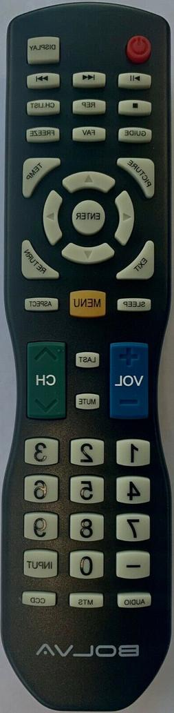 New Bolva TV Remote Control  for most of Bolva FHD TVs 4K Cu