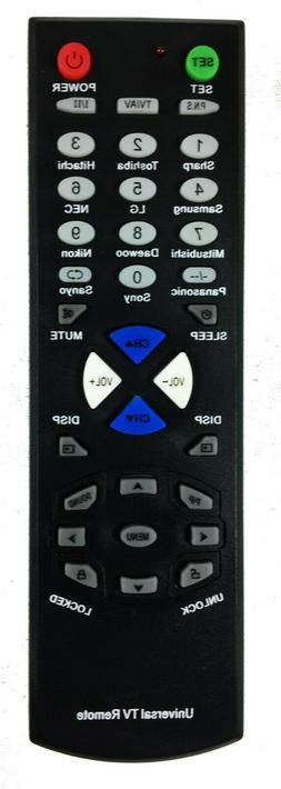 New Universal Replacement Remote Control for Samsung LG TOSH