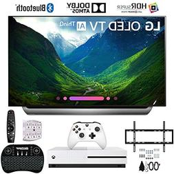 LG OLED55C8PUA 55 C8 OLED 4K Ultra HD AI TV with Xbox One S
