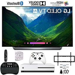 "LG OLED65C8PUA 65"" C8 OLED 4K AI Smart TV with Xbox One S 1T"