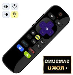 IKU-P81 Universal IR Remote for ROKU Players w/ Samsung Powe