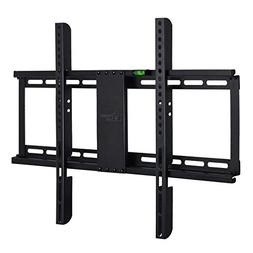 """Ultra Slim 1"""" Fixed TV Wall Mount Bracket for 32-70 Inch LED"""