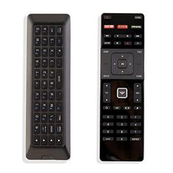 New QWERTY Dual Keyboard Remote XRT500 for Vizio Smart TV wi
