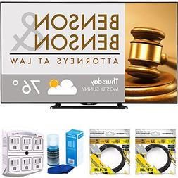 """Sharp 80"""" Class Full HD Commercial LED TV  with 2 x 6ft High"""