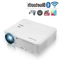 smart android wifi projector bluetooth football game