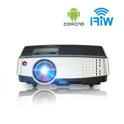 Smart Android WIFI Projector Home Theater Wireless Movies TV
