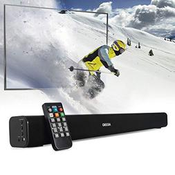 Soundbar, AKIXNO Wall Mountable Sound Bars for TV Sound Bar