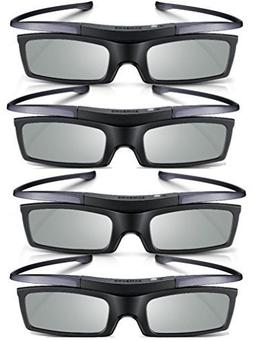 Samsung SSG-5100GB 3D HD TV Active Glasses Lot of 4 Brand Ne