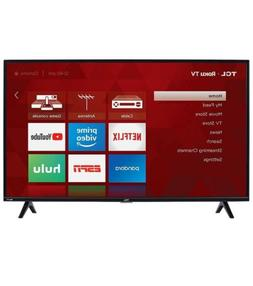 "TCL 40"" Roku Smart LED HDTV 720p Resolution 120Hz Refresh"