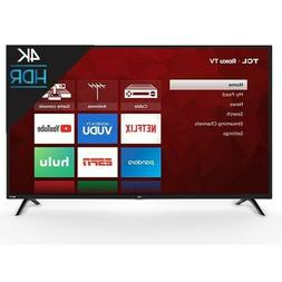 "TCL 55"" Class 4K Ultra HD  HDR Roku Smart LED TV"