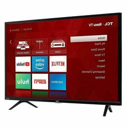 """Tv TCL 32"""" Inch 720p  HD 60Hz Roku Smart LED HDTV with 4 x H"""