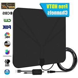 TV Antenna for digital TV Support 4K 1080p HDTV Amplified wi