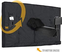 Outdoor TV Cover 44 - 46 Inch LED Flatscreen TV With Bottom
