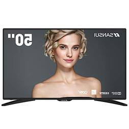 "SANSUI TV LED Televisions 50"" 4k TV with Flat Screen TV, HDM"