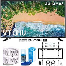 "Samsung UN50NU6900 50"" NU6900 Smart 4K UHD TV  w/Wall Mount"