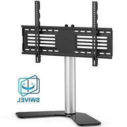 FITUEYES Universal TV Stand/Base Swivel Tabletop TV Stand wi