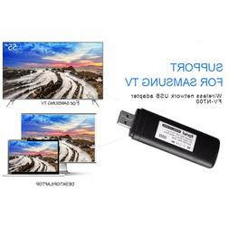 USB Wireless Lan Adapter WiFi Dongle for Samsung Smart TV WI