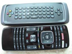 New Vizio Qwerty dual side keyboard internet smart tv remote