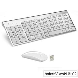 "Wireless Mini Mouse and Keyboard for Sony KD-49X8005C 49""4K"