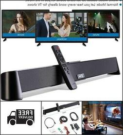 Wireless Wired Sound Bar Theater for Smart TV 4K  31 Inches